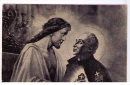 GESU' IMPRIME LA SUA PASSIONE NEL CUORE DI S. PAOLO DELLA CROCE  (M. BARBERIS) - Jesus