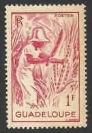 Guadeloupe, 1 F. 1947, Sc # 193, MH - Guadeloupe (1884-1947)