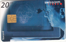 SWITZERLAND - Construction Design, 01/98, used