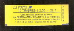 """France, 2376-C11a, SANS """"S"""" à Dehors, Carnet Neuf, Non Ouvert, TTB, La Réservation Gratuite, Carnet Liberté - Carnets"""