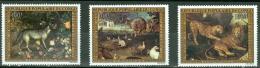Congo 1973 EUROPAFRIQUE, Paintings, Animals  MNH** - Lot. 3078 - Congo - Brazzaville