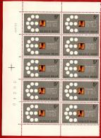 1977  -  BELGIQUE  N°  1867**   Bloc  De  10   Timbres  Neufs - Collections
