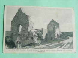 ILE DE BATZ - Ruines De La Chapelle Romane De Penity Qui Succéda Au Monastère De ST POL AURELIEN - Ile-de-Batz