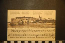 CPA 84-   AVIGNON  VUE GENERALE SUR LE PALAIS DES PAPES ET LE PONT ST BENEZET  33 - Avignon (Palais & Pont)