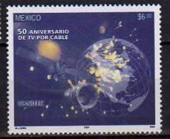 Mexique.Télévision Par Cable. (cinquantenaire).   Année 2004 - Telecom