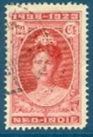 Niederländisch-Indien 12,5 C. + 20 C. Gest. Königin Wilhelmina - Niederländisch-Indien