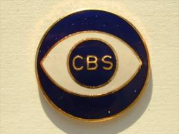 PIN´S CBS - TELEVISION - Médias