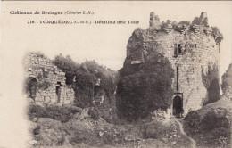 716 - Tonquédec - Détails D´une Tour - Châteaux De Bretagne - Hamonic - Autres Communes