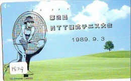 Télécarte Japon * Sport * TENNIS (1829)  * PHONECARD JAPAN * TELEFONKARTE * - Sport