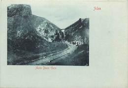 Pays Divers- Ref C615- Yemen - Aden - Main Pass Gate  - Carte Bon Etat  -postcard In Good Condition - - Yémen