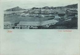 Pays Divers- Ref C613- Yemen - Aden - Town Cantonment  - Carte Bon Etat  -postcard In Good Condition - - Yémen