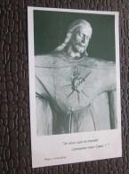 Fête /voeux Image Pieuse Religieuse En Chromo Appel à La Neuvaine Oeuvre Du Sacré-Coeur Montpellier - Santini
