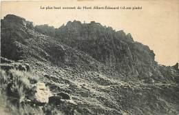 Pays Divers- Ref C608- Le Plus Haut Sommet Du Mont Albert Edouard -papouasie -nouvelle Guinée - Carte Bon Etat  - - Papua Nuova Guinea