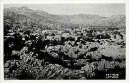 Pays Divers- Ref C600- Montenegro - Cetinje  - Carte Bon Etat  - - Montenegro