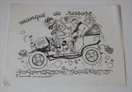 PIERRE SOYMIER. Serie Les Fatigués:  MANQUE DE RESSORT. Publicité Médicale Des LABORATOIRES ROBILLIART - Pubblicitari