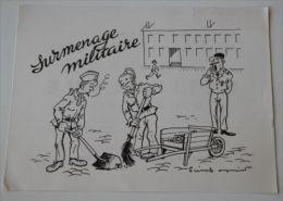 PIERRE SOYMIER. Serie Les Fatigués: SURMENAGE MILITAIRE. Publicité Médicale Des LABORATOIRES ROBILLIART - Pubblicitari