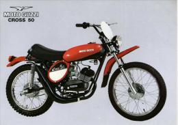 Moto Guzzi 50 Cross 1975  Depliant Originale Genuine Brochure Prospekt - Motoren