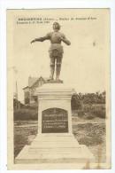Carte Postale - Beaurevoir - Statue De Jeanne D´Arc - France