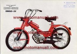 Moto Guzzi Dingo 50 3V 1975 Depliant Originale Genuine Brochure Prospekt - Motoren
