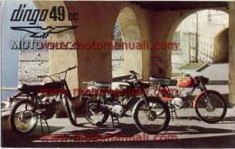 Moto Guzzi Dingo 50 Produzione Modelli 1967 Depliant Originale Genuine Brochure Prospekt - Motoren