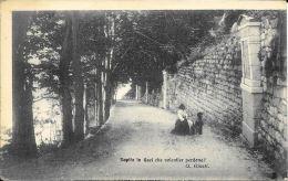 [DC5589] CP - RAPITA IN QUEI CHE VOLENTIER PERDONA! - GIUSEPPE GIUSTI - Old Postcard - Filosofia & Pensatori
