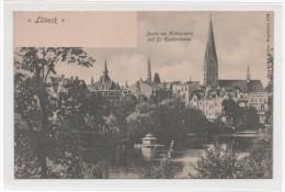 2400   LÜBECK  -  PARTIE AM KRÄHENTEICH  ~ 1900 - Luebeck