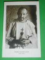 Beato Fra CHARLES De Jesus FOUCAULD - Strasburgo Francia / Tamanrasset Algeria - Santino Ancora JA 0080 - Santini