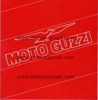 Moto Guzzi Produzione 1985 Depliant Originale Genuine Brochure Prospekt - Moteurs
