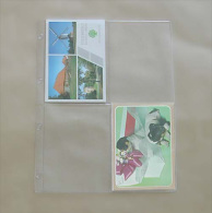 50 Feuilles Transparentes - Pour 4 Cartes Postales Semi-modernes - Matériel