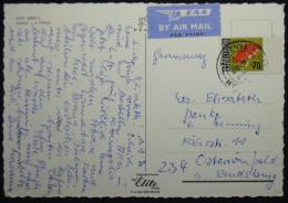 Postcard Tanzania Tansania, 1970, East Africa, Masai Child, Airmail, Nice Stamp (Fish), 3x Scan - Tansania