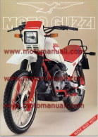 Moto Guzzi V 65 TT 1986 Enduro Depliant Originale Factory Original Brochure - Moteurs