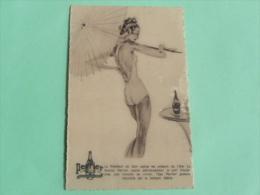 Carte Publicitaire PERRIER - Publicité
