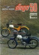 Moto Guzzi 50 DINGO MONOMARCIA 3 MARCE Depliant Originale Factory Original Brochure - Motoren