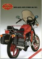 Moto Guzzi 125 Custom Depliant Originale Factory Original Brochure - Engines