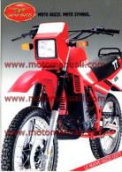 Moto Guzzi 125 TT Depliant Originale Factory Original Brochure - Motores