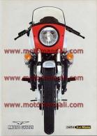 Moto Guzzi 850 Le Mans 1976 Depliant Originale Factory Original Brochure - Moteurs