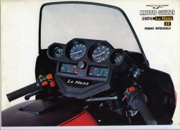 Moto Guzzi 850 Le Mans II 1979 Depliant Originale Factory Original Brochure - Motoren