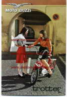 Moto Guzzi Trotter 50 1967 Depliant Originale Factory Original Brochure - Motoren