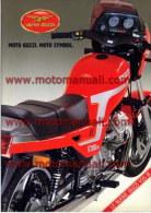 Moto Guzzi V35 III 350 Depliant Originale Factory Original Brochure - Motoren
