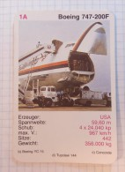 Boeing 747-200 F - JAL Air Lines, Airlines, Plane Avio - Playing Cards