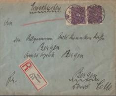 DR R-Brief Mif Minr.15x 112,2x 191 Adorf 4.11.22 - Allemagne