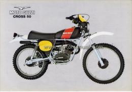 Moto Guzzi 50 Cross 1977 Depliant Originale Factory Original Brochure - Engines
