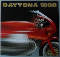 Moto Guzzi DAYTONA 1000 1992 Depliant Originale Factory Original Brochure - Engines