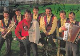 Carte Dédicace  -   Musiker  WOLFGANG EDENHARDER & SEINE ORIGINAL  - OriginalautogrammNAABTALER - Autogramme