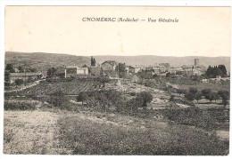 07 ARDECHE CHOMERAC  Vue Générale Peu Courante - Frankreich