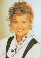 Carte Dédicace  -   Musiker  ANGELA WIEDL - Originalautogramm - Autographes