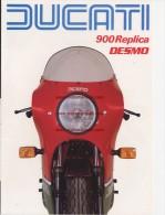 Ducati 900 MIKE HAILWOOD REPLICA 1983 Depliant Originale Factory Original Brochure - Motoren