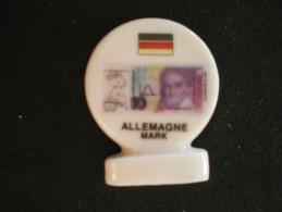 F�ve de la s�rie L� Euro et Autres Monnaies, Super U - Allemagne Mark - 1999