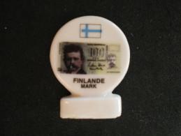 F�ve de la s�rie L� Euro et Autres Monnaies, Super U - Finlande Mark - 1999