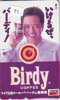 Télécarte Japon *  PEPSI COLA  (72) BIRDY COFFEE * Japan Phonecard * Telefonkarte * - Advertising